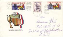 EISHOCKEY-ICEHOCKEY-HOCKE Y SUR GLACE-HOCKEY SU GHIACCIO, CSR/CSSR, 1985, Special Postmark  !! - Hockey (su Ghiaccio)