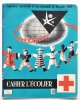 EXPO 1958 BRUXELLES : Couverture N° 133 CAHIER DE L´ECOLIER : Tour Eiffel, Etc / Croix-Rouge / Roi Baudouin (photo) - Kids