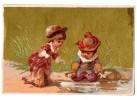 """CHROMOS & IMAGES, IMAGE, """"La Source""""..., Vierge - Vieux Papiers"""