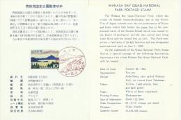 Japan 1964 Wakasa Bay Quasi-National Park, First Day Card - FDC