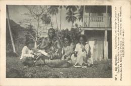 ILES MARQUISES - ON MANGE LE POPOI EN FAMILLE - PRIX FIXE !! - Polinesia Francese