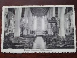 Binnenzicht St.-Martinuskerk / Anno 19?? ( zie foto voor details ) !