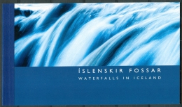 IJSLAND 2004 Prestigeboekje Waterval PF-MNH - Ungebraucht