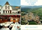 Soultzmatt : Hotel Restaurant De Tourisme A. Klein - Multivue Générale Façade Salle à Manger N°1549 - Frankrijk