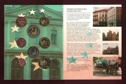 Suéde  - Essai Des 8 Pièces En Euro De 2003  - Sous Blister D´origine - Voir Les 4 Scannes - Essais Privés / Non-officiels