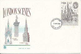 Great Britain FDC Isle Of Wight 9-4-1980 London 1980 With Nice Cachet London Scenes - Expositions Philatéliques