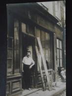 BOUTIQUE En TRAVAUX - Ouvrier - Vers 1910 - Devanture De Commerce - Carte-photo - Non Voyagée - A Voir ! - Non Classificati