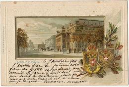 Gruss Aus Wien K.K. Hofoper  Embossed  Serie 1271 Ed. Arenz Used 1904 - Autres