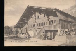 Suisse -- Chateau - D'Oex -- Vieux Chalet - VD Vaud