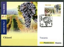 """ITALIA / ITALY 2014 - Made In Italy - Vini DOCG - """"Chianti"""" -  Maximum Card Come Da Scansione - Vini E Alcolici"""