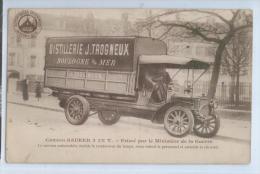 CAMION SAURER 3 1/2 T. Primé Par Le Ministère De La Guerre ..... Double Le Rendement Du Temps, Donc Réduit .... - Transporter & LKW