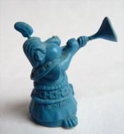 FIGURINE ASTERIX DUPONT D´ISSIGNY 1969 TRES RARE JOUEUR DE TROMPE COMPLET Bleu - Asterix & Obelix