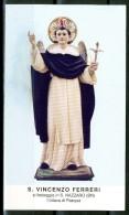 Santino - San Vincenzo Ferreri - Venerato In San Nazzaro (BN). - Images Religieuses