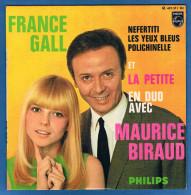 MAURICE BIRAUD Et FRANCE GALL (la Petite En Duo France Gall)-  VINYLE 45 Tours - Réf. 437 317 BE - PHILIPS - Année 1967 - Vinyles