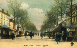TOULOUSE - HAUTE-GARONNE (31)  -  CPA BIEN ANIMEE EN COULEUR. - Toulouse
