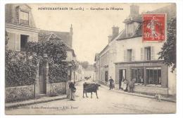 CPA 78 Pontchartrain Carrefour De L'hospice - France