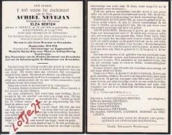 Achiel Nevejan(Brouwer)  Oudstrijder-vuurkruiser1914-1918 Geb.Beerst 1896 /overl.Krombeke1959 - Religion & Esotericism