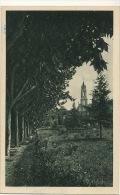 9 Giardini Grotta Di Lourdes Dal Viale Degli Ulivi Edit Cominelli Milano Stamp Vaticano - Vatican