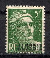 ALGERIE - N° 240* - MARIANNE DE GANDON - Algérie (1924-1962)