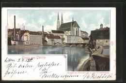 AK Görlitz, Altstadt M. Peterskirche U. Alter Neissebrücke - Görlitz