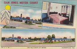 Florida Jacksonville Dan Jones Motor Court 1955 - Jacksonville