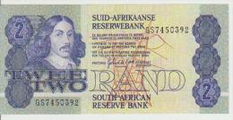South Africa 2 Rain 1983-90 Pick 118d UNC - Afrique Du Sud