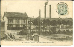CPA AIX EN PROVENCE La Manufacture D'allumettes 11298 - France