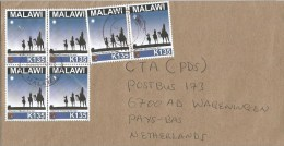 Malawi 2014 Lilongwe Christmas Wisemen Following The Star K135 Cover - Malawi (1964-...)