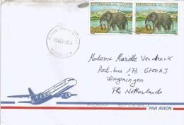 Congo 2014 Pointe Noire Savanna Elephant 270f Cover - Elephants