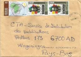 Togo 2014 Agou G1 Senghor 150f Peace Dove 400f Cover - Togo (1960-...)