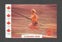 SPORTS - JEUX OLYMPIQUES - CANADA 1976 - MONTRÉAL - SAUT À LA PERCHE - POLE VAULING - PAR MESSAGERIES DE PRESSE - Jeux Olympiques