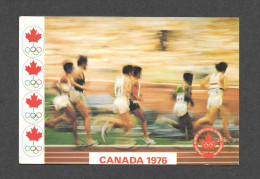 SPORTS - JEUX OLYMPIQUES - CANADA 1976 - MONTRÉAL - PISTE & PELOUSE - TRACK & FIELD - PAR MESSAGERIES DE PRESSE - Jeux Olympiques