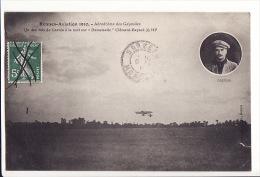 """Rennes Aviation 1910 - Aérodrome Des Gayeulles - Un Des Vols De Garros à La Nuit Sur """"Demoiselle"""" Clément Bayard 35 HP - Rennes"""