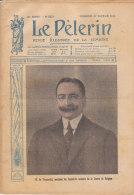 LE PELERIN .-  27 Fevrier 1916 M. De Broqueville, Président Du Conseil Et Ministre De La Guerre De Belgique - 1900 - 1949