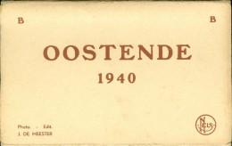 Ostende   Oostende  Carnet Met 10 Postkaarten - B  1940  B - Foto´s J. De Meester - Oostende