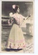 Paulette Darty , Artiste 1900 ,Bouffes Parisiens , Photo Reutlinger - Entertainers