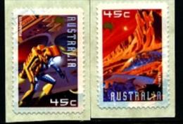 AUSTRALIA - 2000  EXPLORATION OF MARS  SELF  ADHESIVE  SET  MINT NH - 2000-09 Elizabeth II
