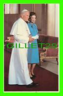 ROYAL FAMILIES - ELIZABETH, THE MARBLE HALL, BUCKINGHAM PALACE - PAPAL VISITE 1982 - PRESCOTT PICKUP & CO - - Royal Families