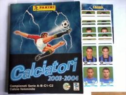 Album Calciatori Panini - Album Completo Più Nuovi Acquisti   - Campionato  2003-2004. BB. - Non Classificati