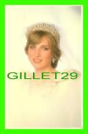 ROYAL FAMILIES - PRINCESS DIANA , VIGNETTE BY PATRICK LICHFIELD - ROYAL WEDDING 1981 - PRESCOTT PICKUP & CO - - Royal Families