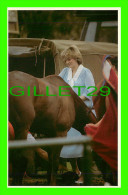 ROYAL FAMILIES - PRINCESS DIANA, WITH HER HORSE TAME TAMING - ROYAL FAMILY 1982 - PRESCOTT PICKUP & CO - - Royal Families