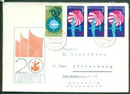 DDR FDC 1972 20 Jahre Gesellschaft Für Sport Und Technik - FDC: Enveloppes