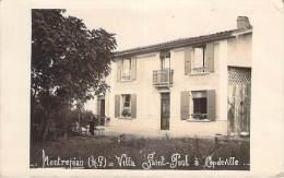 31 - Montrejeau - Villa Saint-Paul à Capdeville, Carte Photo 1931 - Montréjeau