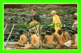 ROYAL FAMILIES - CHARLES & DIANA , MAORI FAREWELL, 1983 - CHARLES & DIANA IN THE ANTIPODES - PRESCOTT PICKUP & CO - - Royal Families