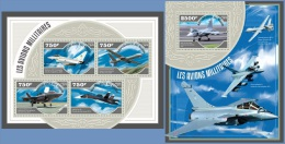 nig14508ab Niger 2014 Military Planes Airplane 2 s/s