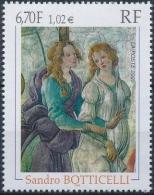 FRANCE Poste 3301 ** Tableau Sandro BOTTICELLI : Vénus Et Les Grâces Offrant Des Présents - France