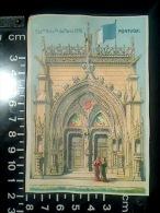 CHROMO EXPOSITION UNIVERSELLE DE PARIS 1878 PAVILLON PORTUGAL DOS BLANC - Trade Cards