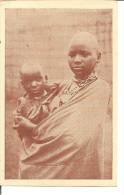 OUROUNDI  Missions Des Peres Blancs  Jeune Maman Coiffée à La Mode Du Pays - Ruanda-Urundi