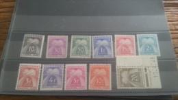 LOT 236884 TIMBRE DE ANDORRE NEUF*  N�21 A 31 VALEUR 25 EUROS