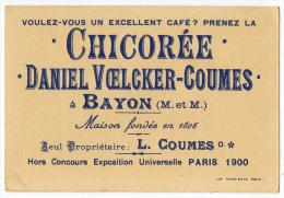 Bayon Meurthe Et Moselle Chicorée Voekler Lot 7 Chromos Animaux 1900 état Superbe - Thé & Café